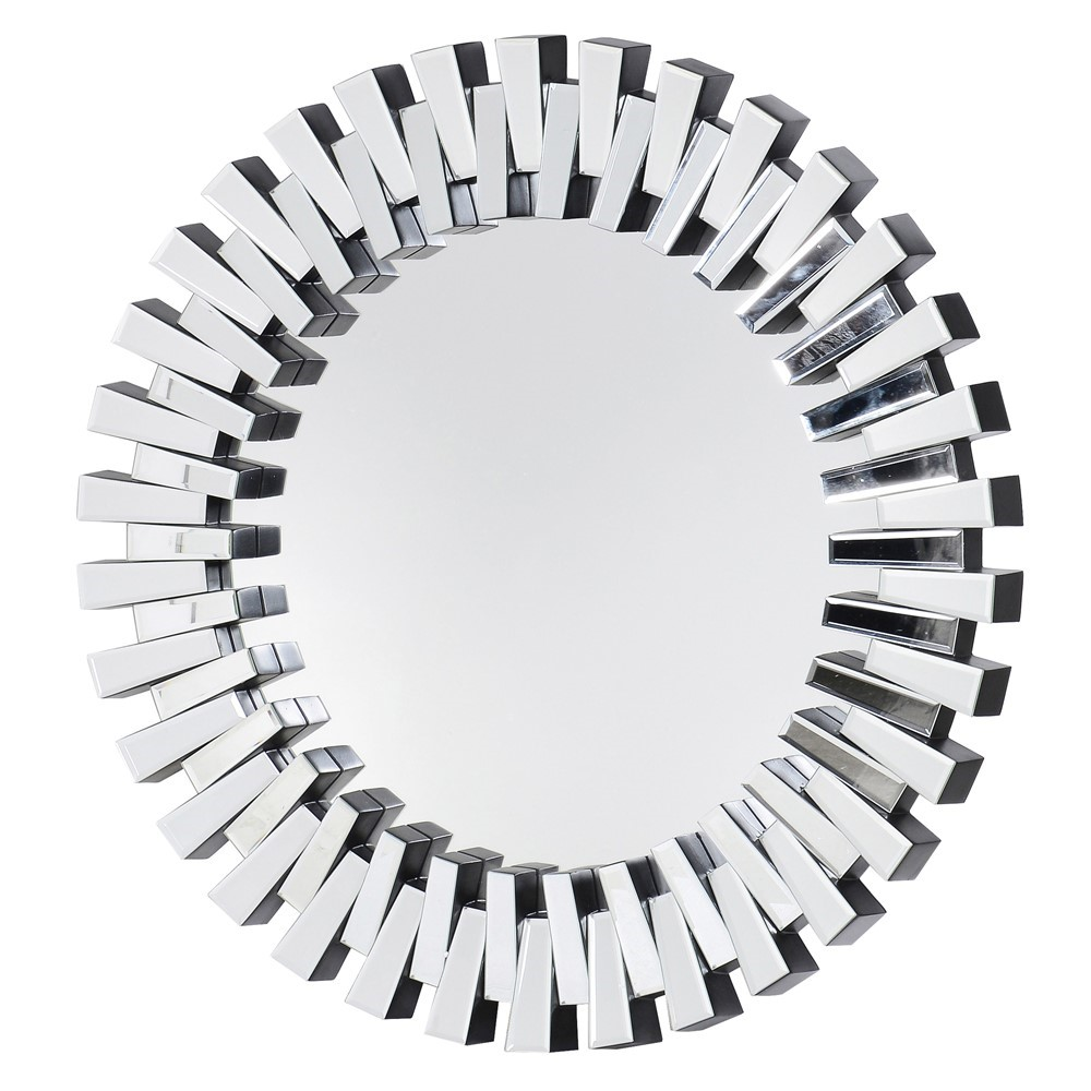 Round Zip Wall Mirror