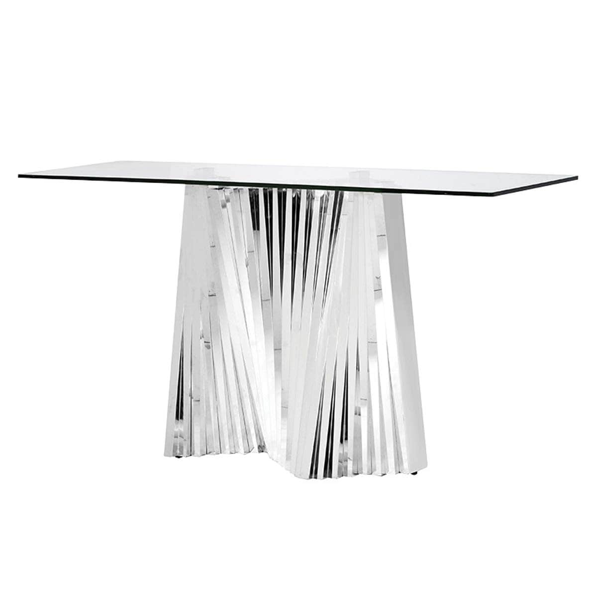 Shard Silhouette Console Table