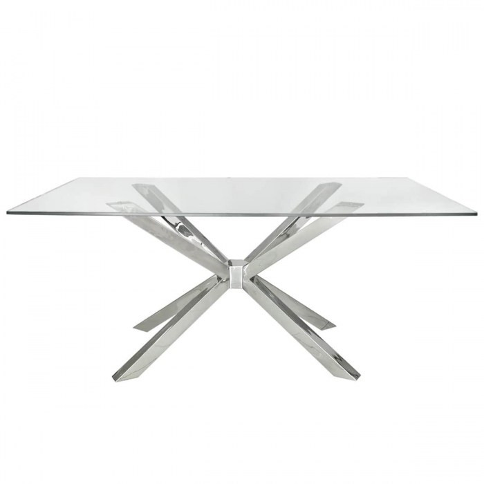 Nouveau dining table MF169-00-GLS-CH